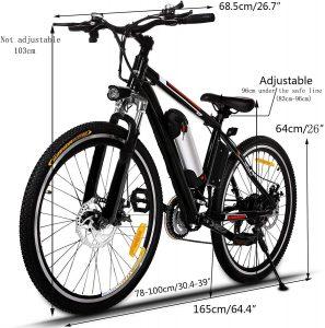 Kemanner 26 inch Electric Mountain Bike