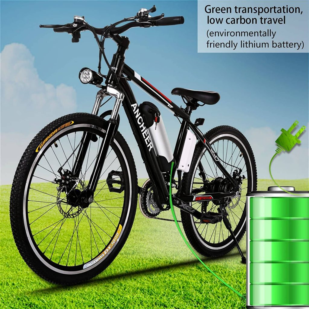 ANCHEER Electric Bike Adult Electric Mountain Bike 7 1024x1024 - 🥇BEST ELECTRIC BIKES UNDER $1000 - Black Friday 2020