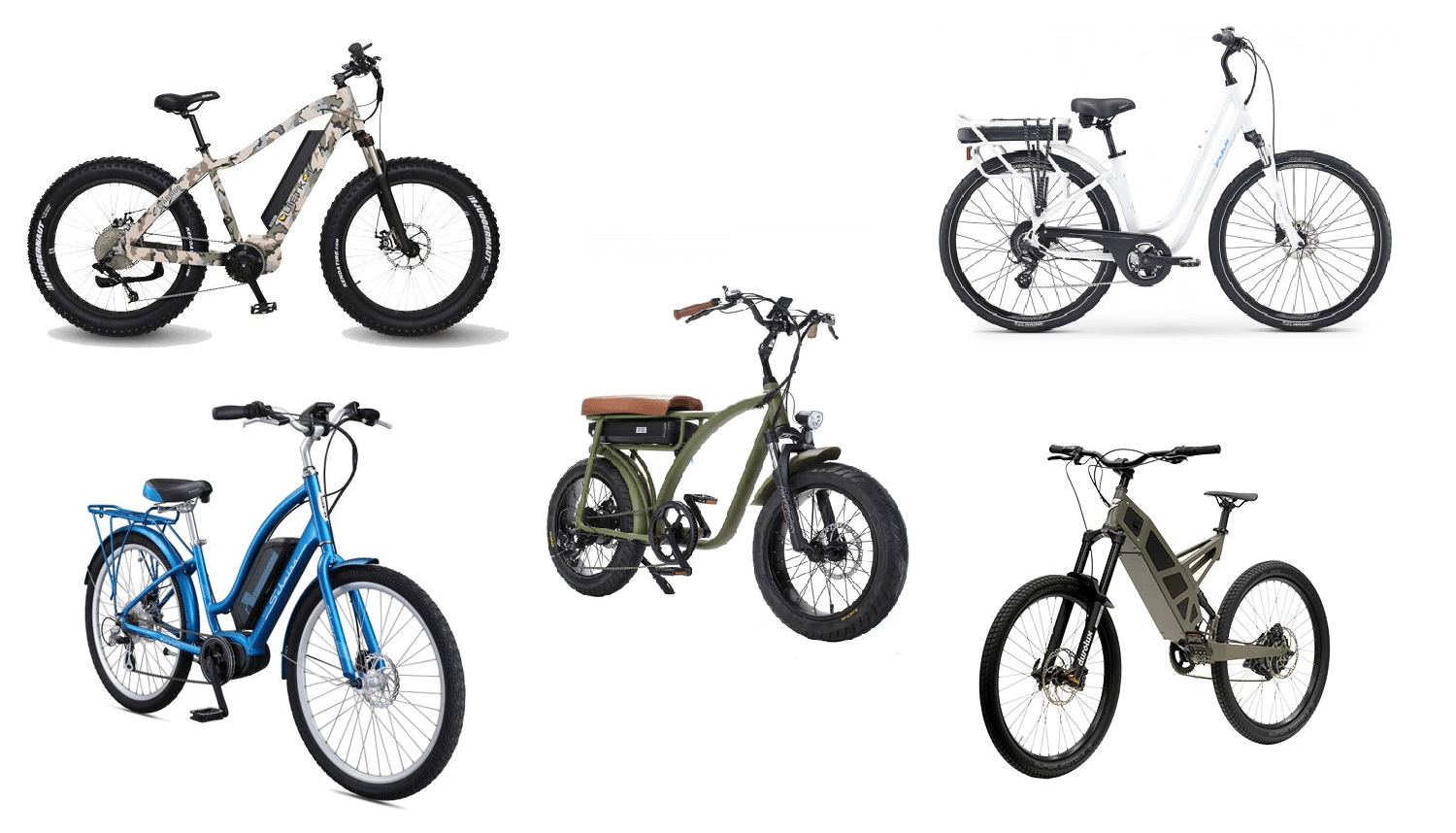 🥇BEST ELECTRIC BIKES UNDER $1000