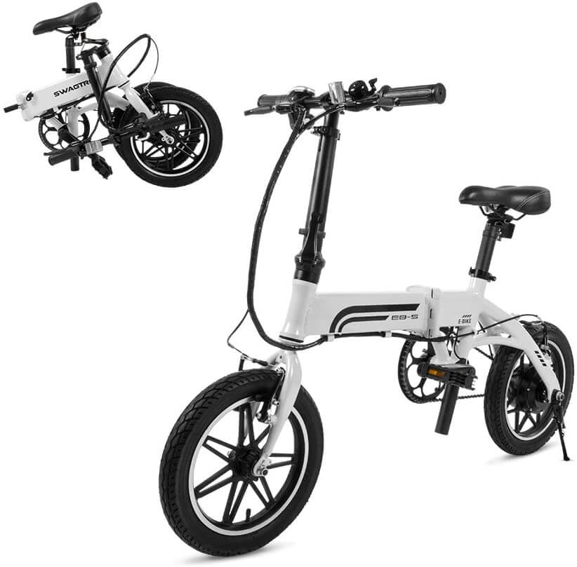 SWAGTRON Swagcycle EB5 Folding Ebike - 🥇BEST ELECTRIC BIKES UNDER $1000 - Black Friday 2020