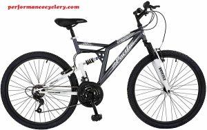 Pacific Chromium Men's Dual Suspension Mountain Bike (26-Inch Wheels)