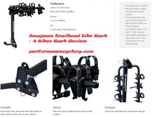 Swagman Trailhead 4 Bike Fold Down Rack 4 Bikes Rack Review 300x230 - 4 Bikes Rack Reviews in 2020
