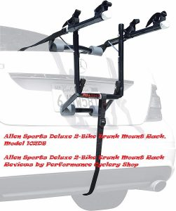 Allen Sports Deluxe 2-Bike Trunk Mount Rack Reviews by Performance Cyclery Shop