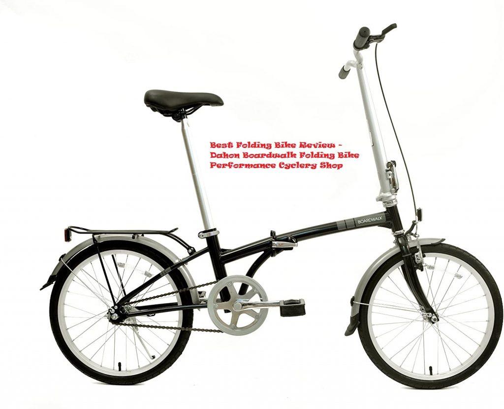 Best Folding Bike Review 2020- Dahon Boardwalk Folding Bike