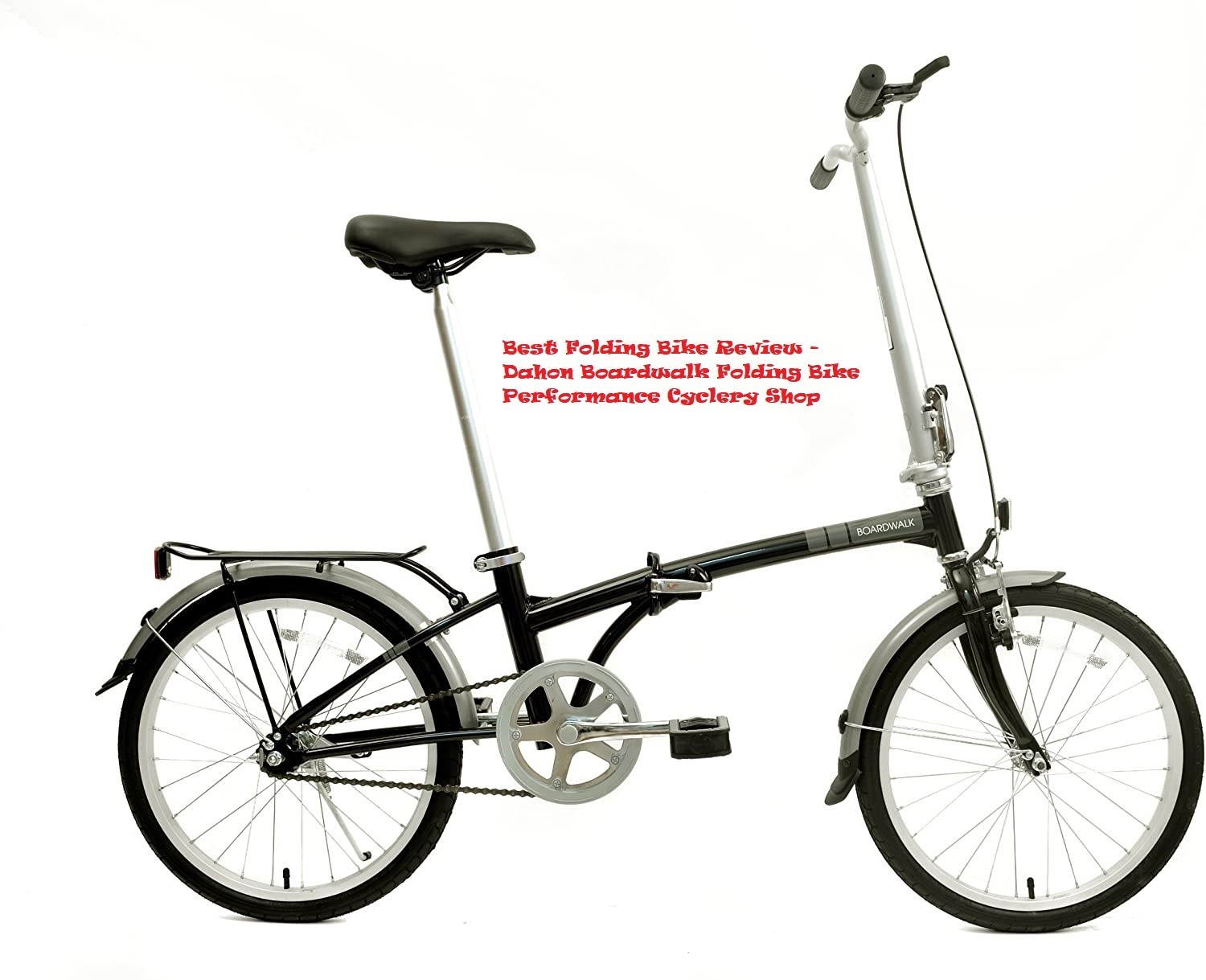 Best Folding Bike Review 2020- Dahon Boardwalk Folding Bike