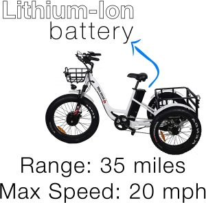 Electric Tricycle For Adult Culver Bikes Pro Electric Tricycle 24 Inch 1 300x296 - Electric Tricycle For Adult - 7 Reasons to Get One