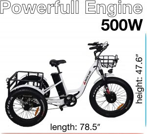 Electric Tricycle For Adult Culver Bikes Pro Electric Tricycle 24 Inch 3 300x274 - Electric Tricycle For Adult - 7 Reasons to Get One