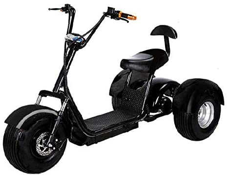 Electric Tricycle For Adult Electric 3 Wheel Fat Front and Back Tire Double Seat Scooter Trike CityCoco Bike eBike 2 - Electric Tricycle For Adult - 7 Reasons to Get One