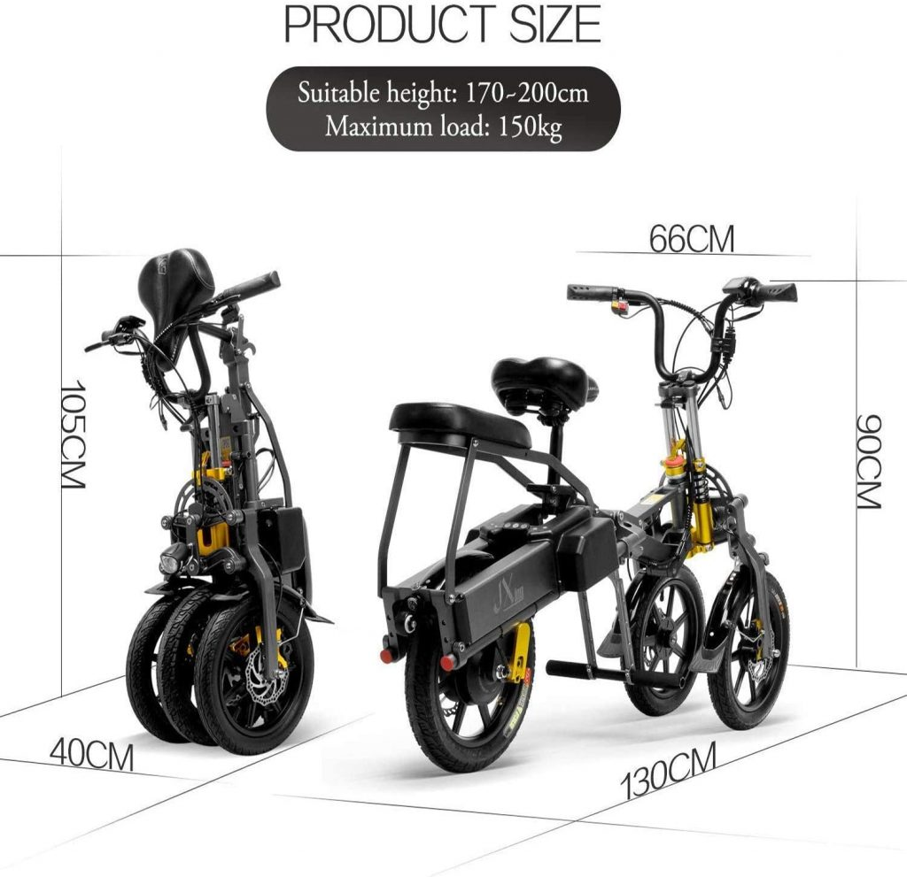 Electric Tricycle For Adult