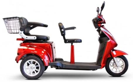 Electric Trike EWheels EW 66 2 Passenger Heavy Duty Scooter 2 - Electric Tricycle Buyers' Guide