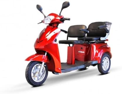 Electric Trike EWheels EW 66 2 Passenger Heavy Duty Scooter - Electric Tricycle Buyers' Guide