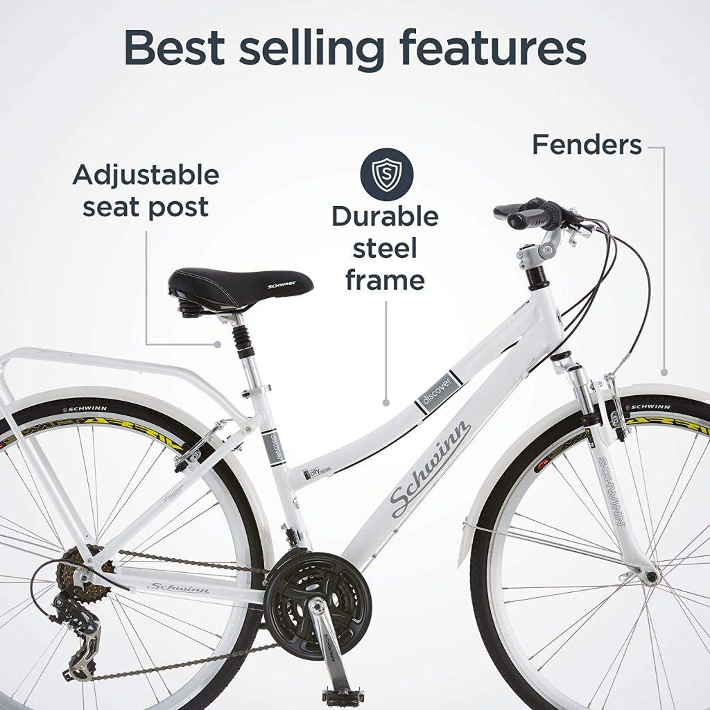 Schwinn Discover Hybrid Bike for Men and Women 4 1024x1024 - Best Hybrid Bike Reviews - Schwinn Discover Hybrid Bike for Men and Women
