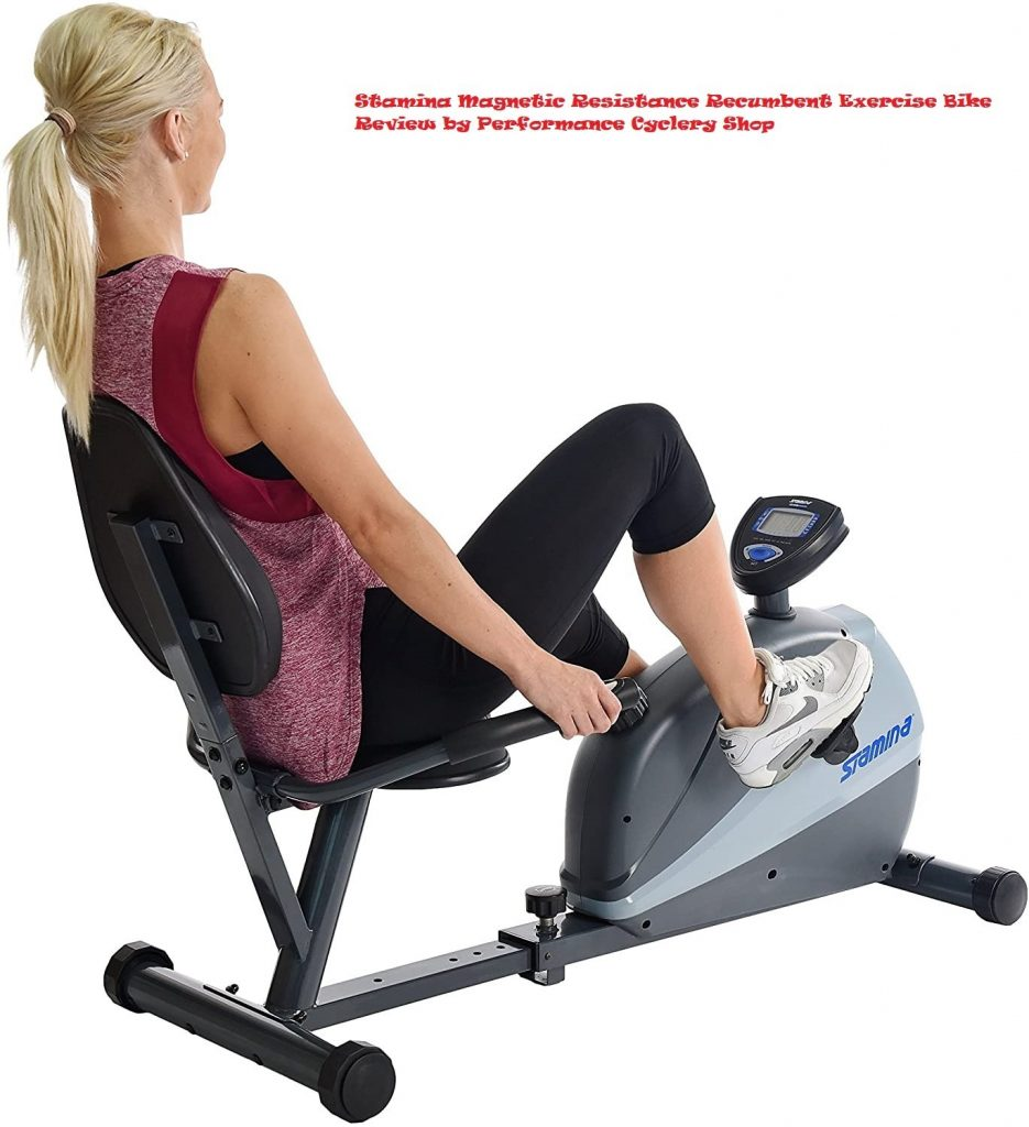 Stamina Magnetic Resistance Recumbent Exercise Bike Review by Performance Cyclery Shop