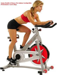 Sunny Health Fitness Pro Indoor Cycling Bike 227x300 - How to choose the best recumbent exercise bike?