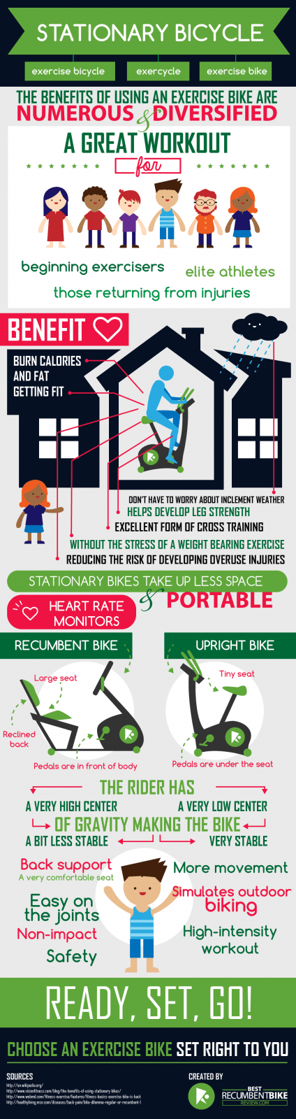 Infographic Recumbent Exercise Bike Reviews