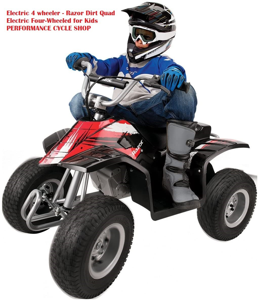 Electric 4 wheeler – Razor Dirt Quad Electric Four-Wheeled Review in 2020