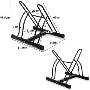 Floor Bike Stand Rack
