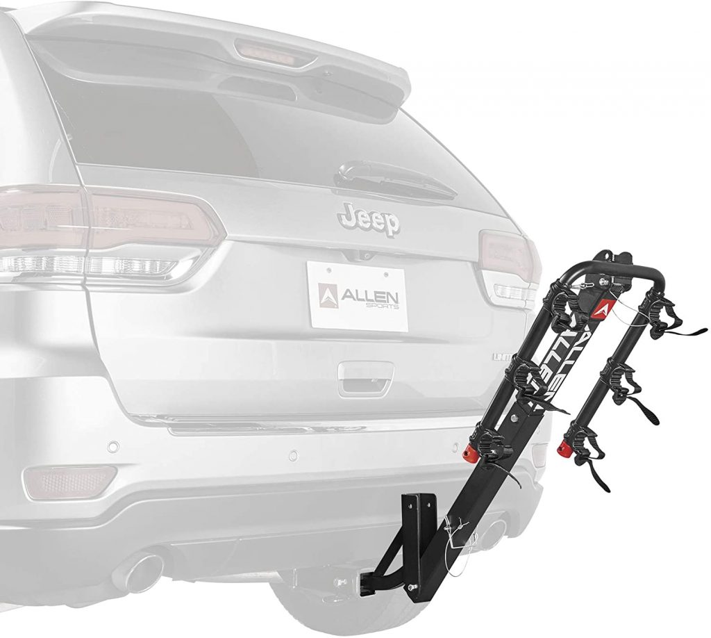 Allen Sports 3 Bike Hitch Racks 4 1024x918 - Allen Sports Bike Rack Reviews in 2020 - What You Need To Know Before Buying a Bike Rack For Your Car