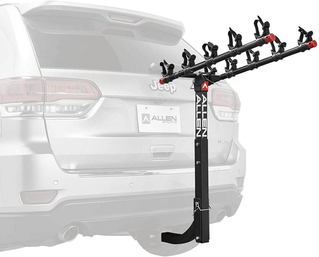 Allen Sports 5 Bike Hitch Racks 1024x826 - Allen Sports Bike Rack Reviews in 2020 - What You Need To Know Before Buying a Bike Rack For Your Car