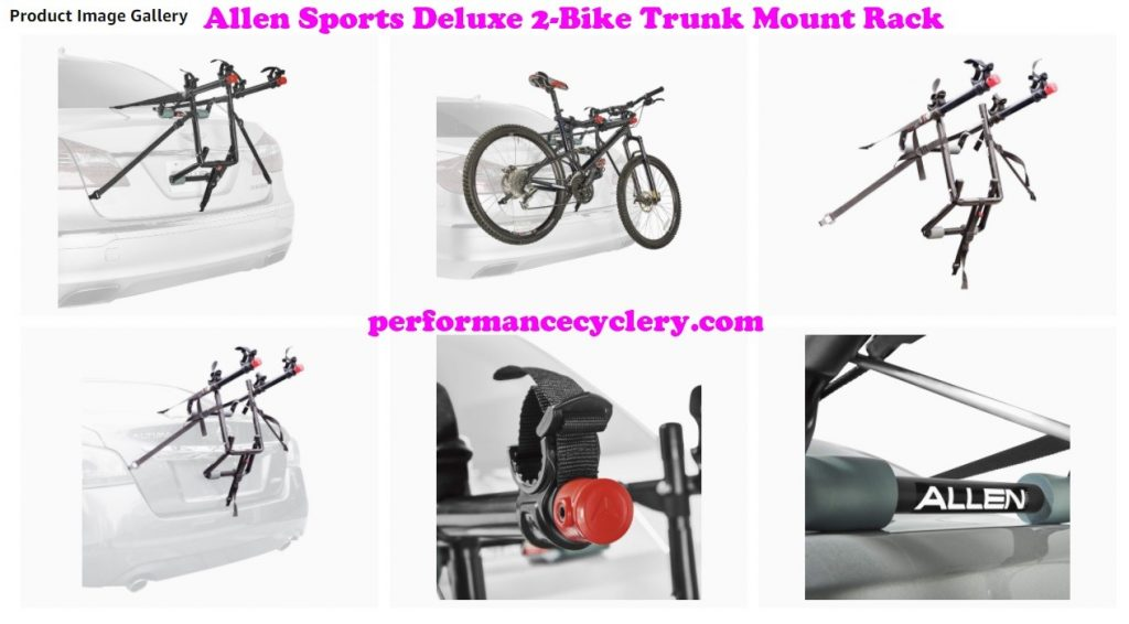 Allen Sports Deluxe 2 Bike Trunk Mount Rack 5 1024x566 - Allen Sports Bike Rack Reviews in 2020 - What You Need To Know Before Buying a Bike Rack For Your Car