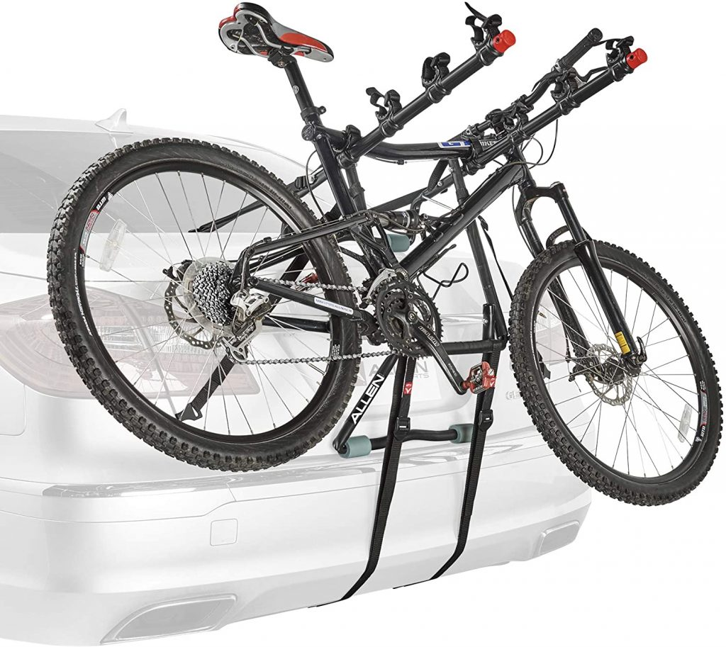 Allen Sports Deluxe 4 Bike Trunk Mount Rack 1 1 1024x913 - Allen Sports Bike Rack Reviews in 2020 - What You Need To Know Before Buying a Bike Rack For Your Car