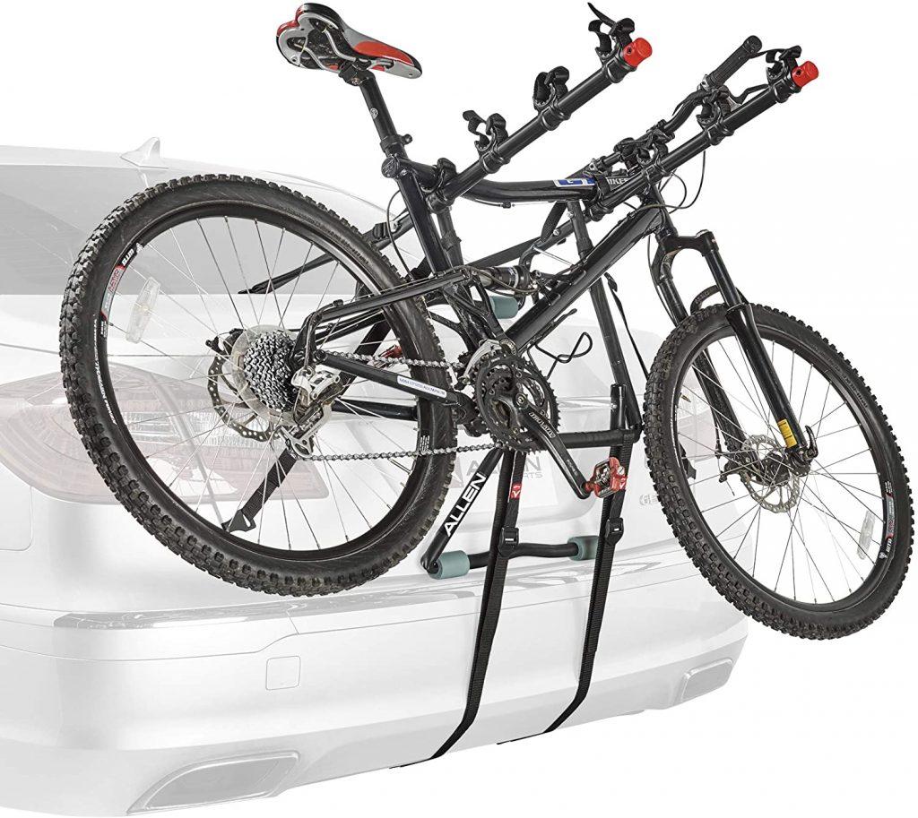 Allen Sports Deluxe 4 Bike Trunk Mount Rack 1 1024x913 - Best Bike Rack for Car in 2020 - Many Factors to Consider When Looking For The Best Bike Rack For Your Car