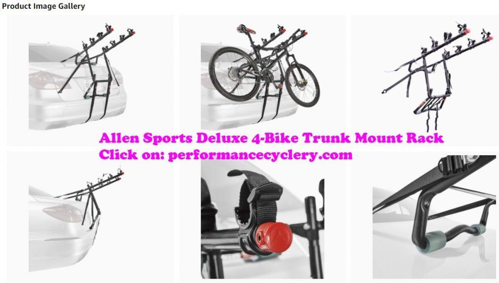 Allen Sports Deluxe 4 Bike Trunk Mount Rack 8 1024x580 - Best Bike Rack for Car in 2020 - Many Factors to Consider When Looking For The Best Bike Rack For Your Car