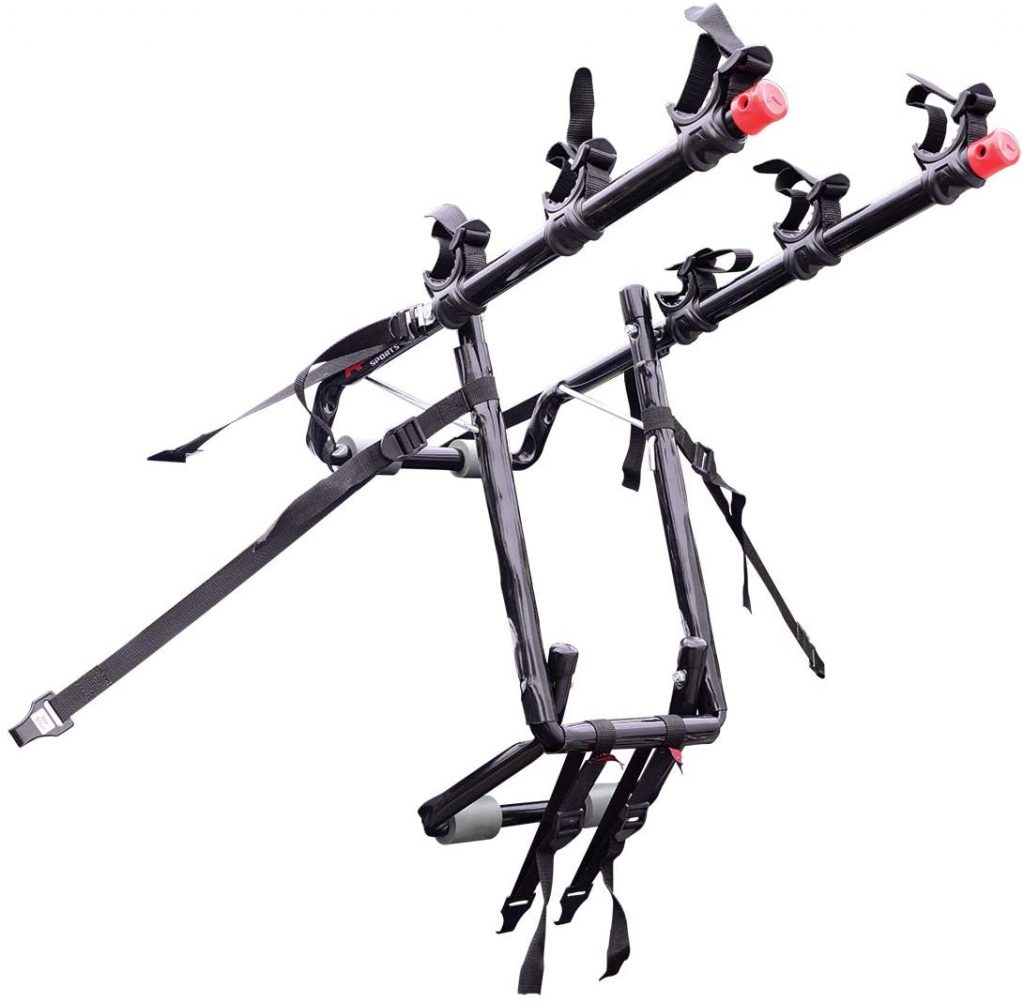Allen Sports Deluxe Trunk Mount 3 Bike Carrier 2 1024x1002 - Allen Sports Bike Rack Reviews in 2020 - What You Need To Know Before Buying a Bike Rack For Your Car