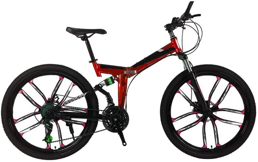 LOOKAA Mountain Bike Multiple Colors Aluminum Racing Outdoor Cycling 3 - Best Hybrid Bikes Under 300 in 2020 Reviews