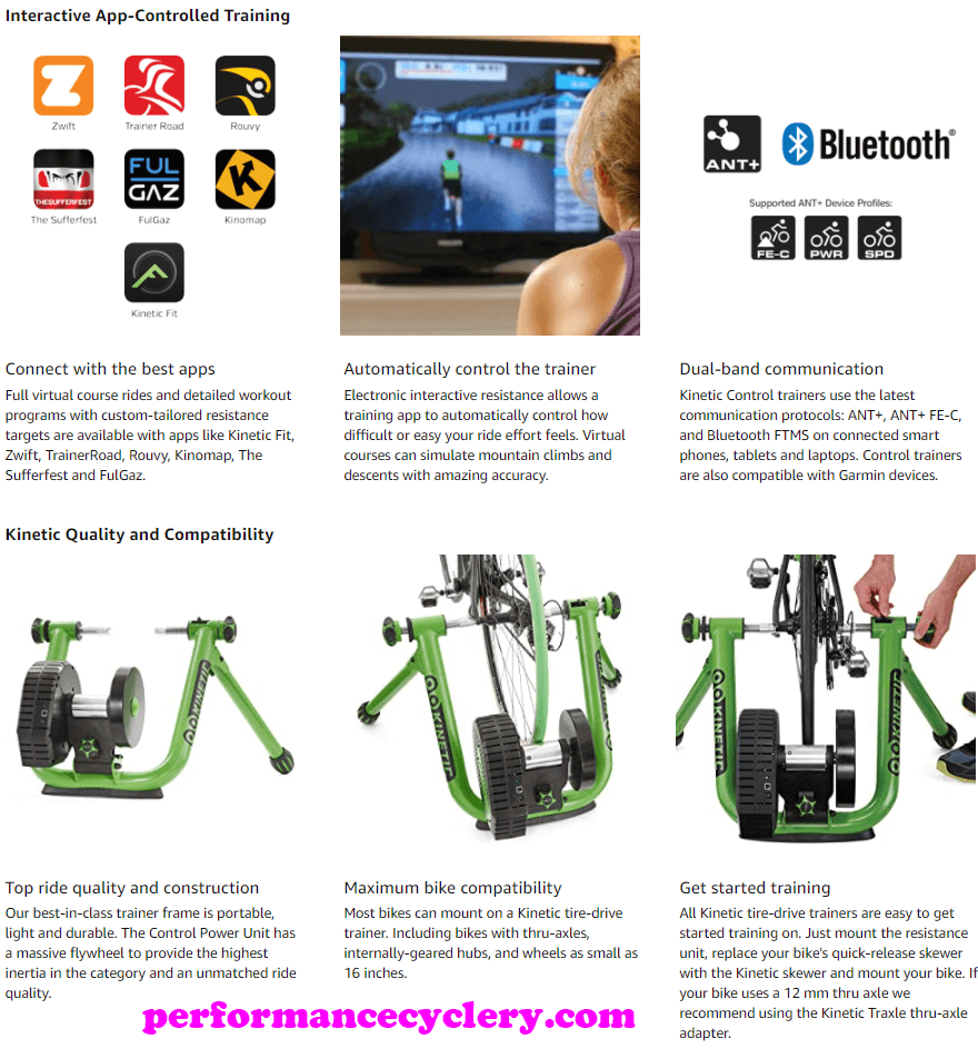 Kinetic by Kurt Road Machine Control 3 - Best Fluid Bike Trainers in 2020