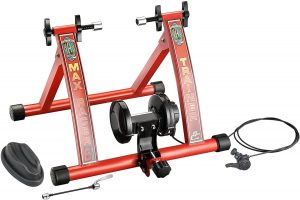 RAD Cycle Products Max Racer 7 Levels of with Smooth Magnetic Indoor Bicycle Trainer Stationary Bike Stand 300x200 - Best Stationary Bike Stand Reviews in 2020 - What You Need To Know Before Buying One