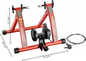 RAD Cycle Products Max Racer 7 Levels of with Smooth Magnetic Indoor Bicycle Trainer Stationary Bike Stand 4 300x213 - Best Stationary Bike Stand Reviews in 2020 - What You Need To Know Before Buying One