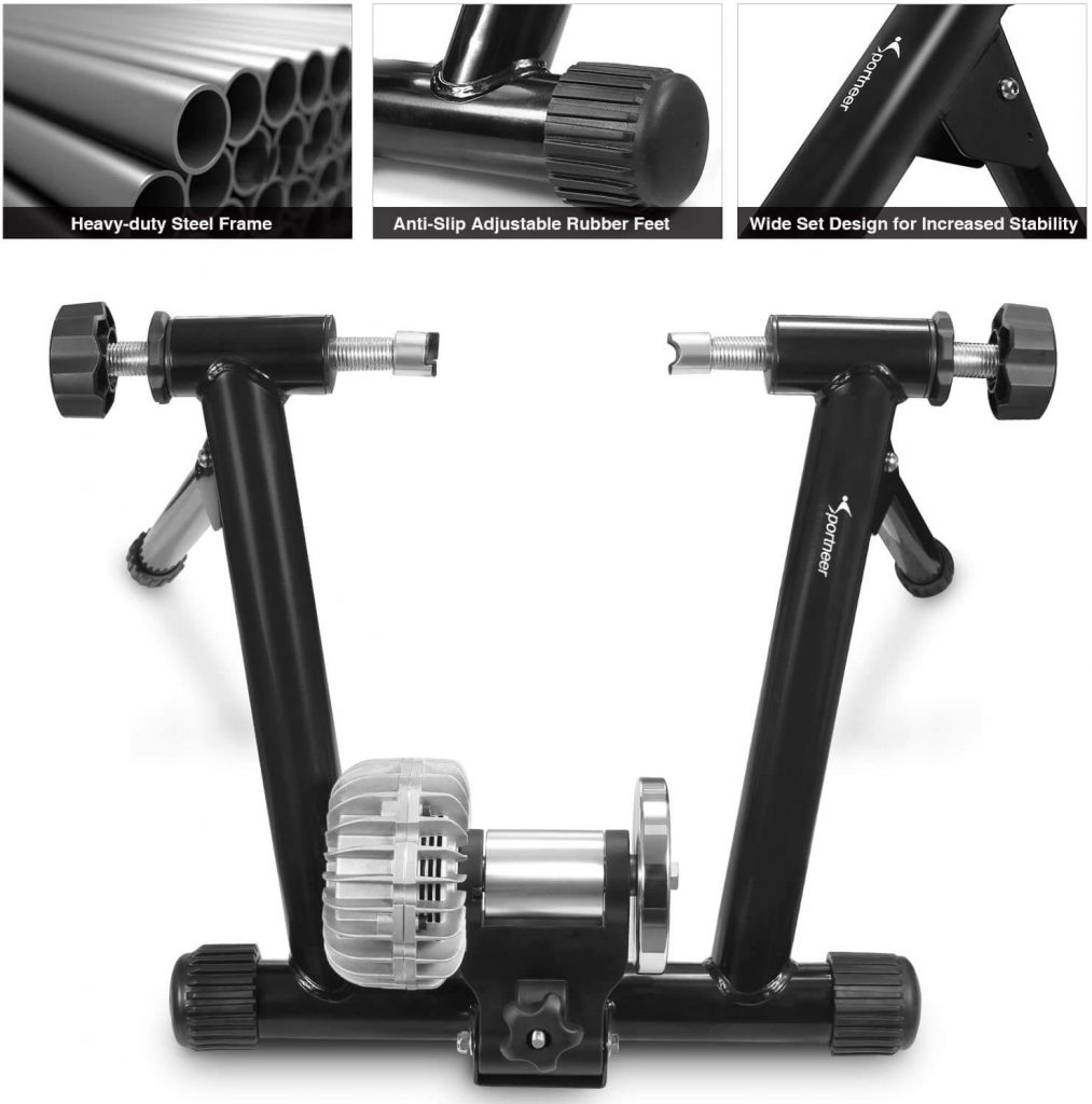 Sportneer Indoor Bicycle Exercise Training Stand Fluid Bike Trainer Stand 4 1013x1024 - Best Fluid Bike Trainers in 2020