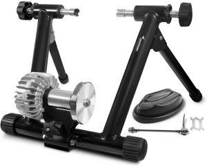 Sportneer Indoor Bicycle Exercise Training Stand Fluid Bike Trainer Stand 7 300x240 - Best Fluid Bike Trainers in 2020