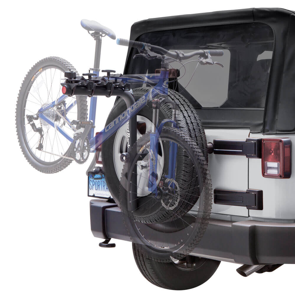 SportRack SR2813B Pathway Spare Tire Rack 5 - Sportrack Bike Rack Reviews in 2020