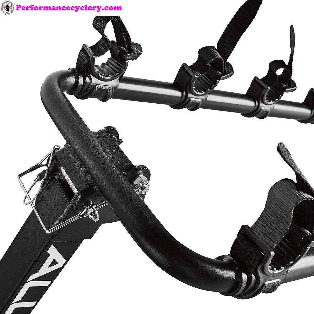 Allen hitch bike rack